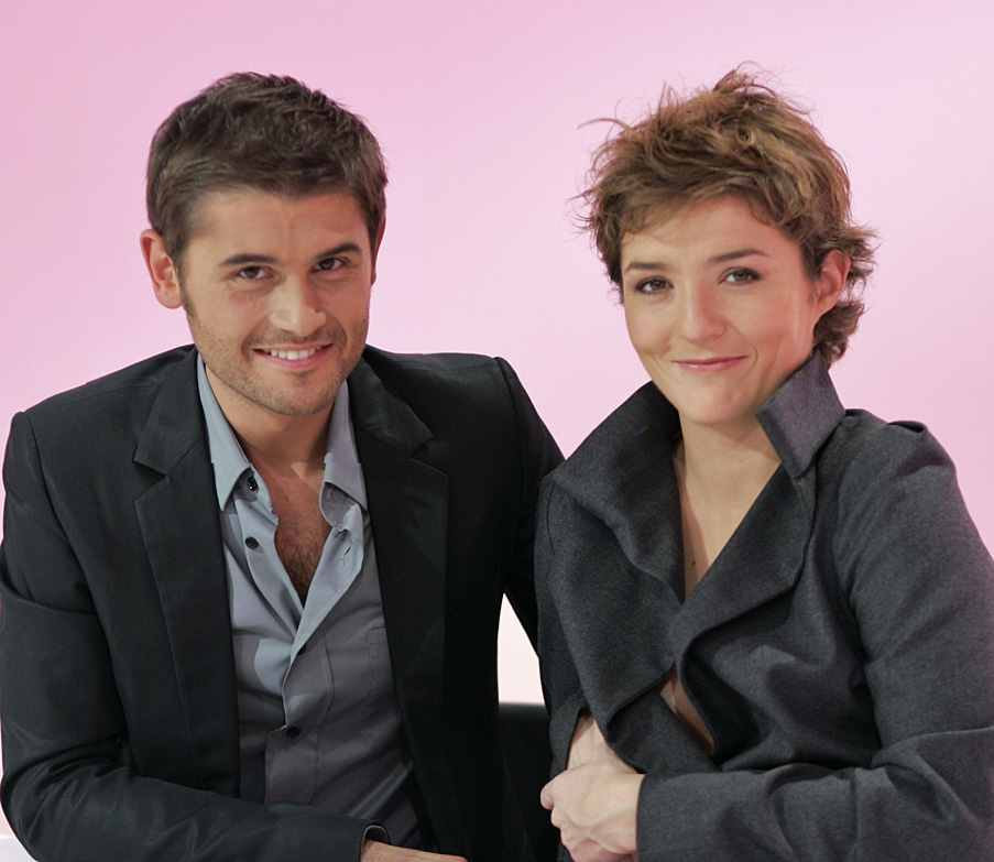Marie Mabory et Christophe Beaugrand - Le Set de Pink TV