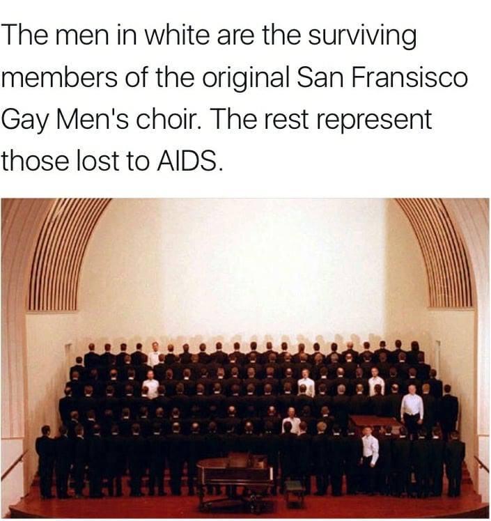 Les survivants su choeur gay de San Francisco