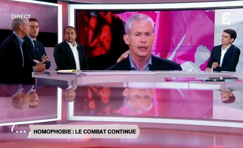 Débat FRANCE 2 : homophobie - le combat continue
